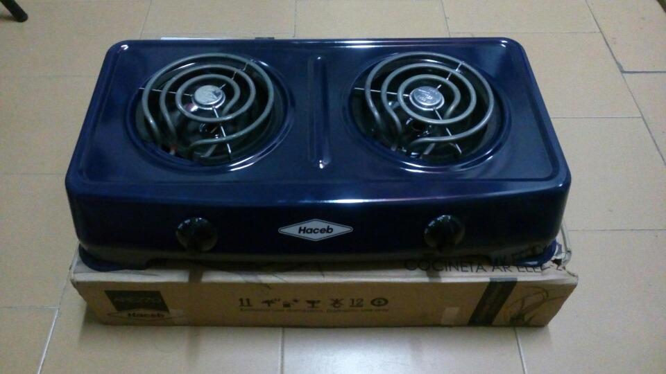 Cocineta Electrica 2 Puestos Haceb