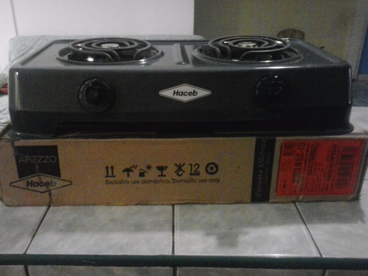 Cocina Electrica 2 Hornillas Haceb Nueva Bs 0 36 En Mercado Libre