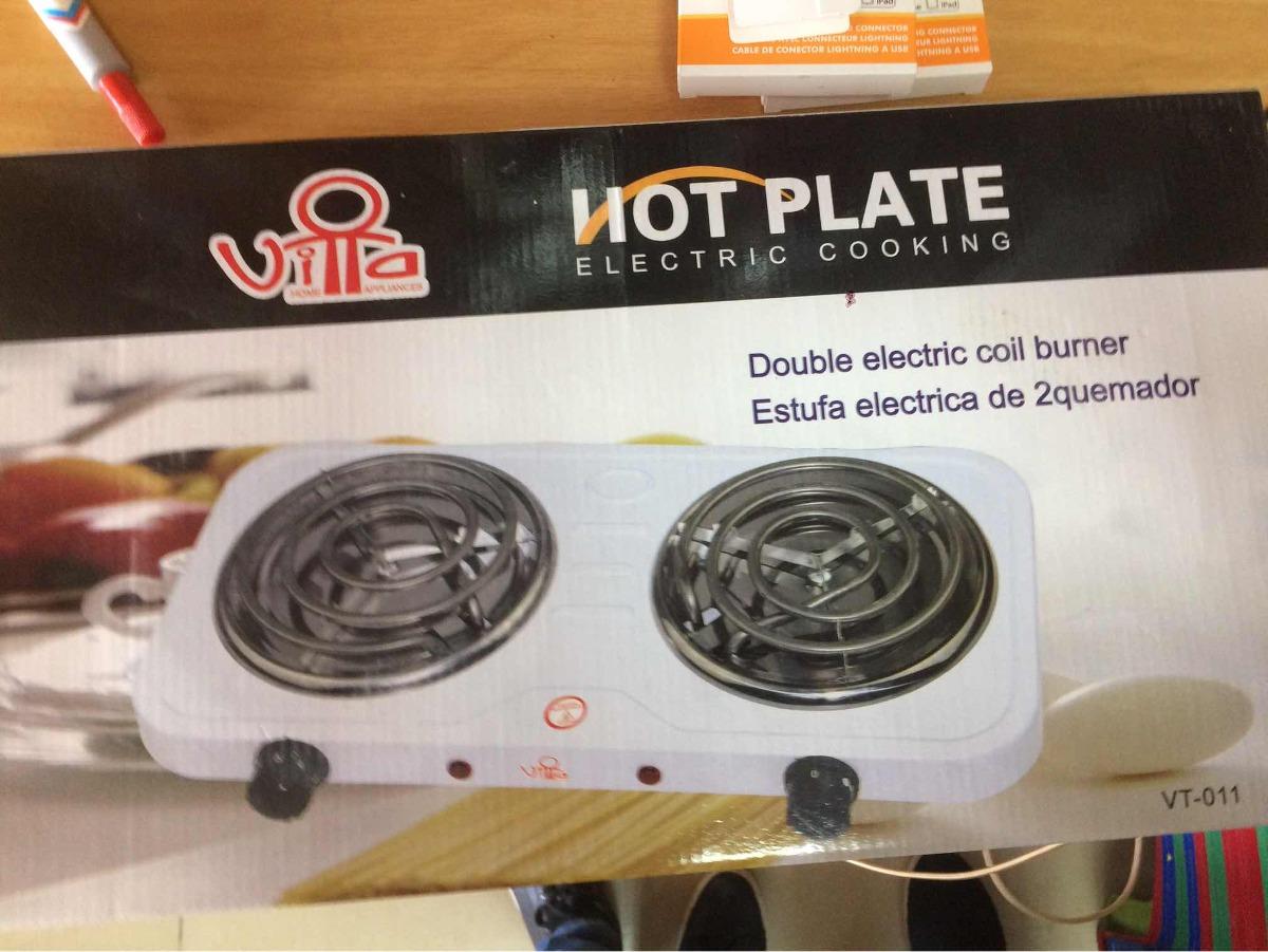 Cocina Electrica 2 Hornillas Hot Plate Bs 23 400 00 En Mercado