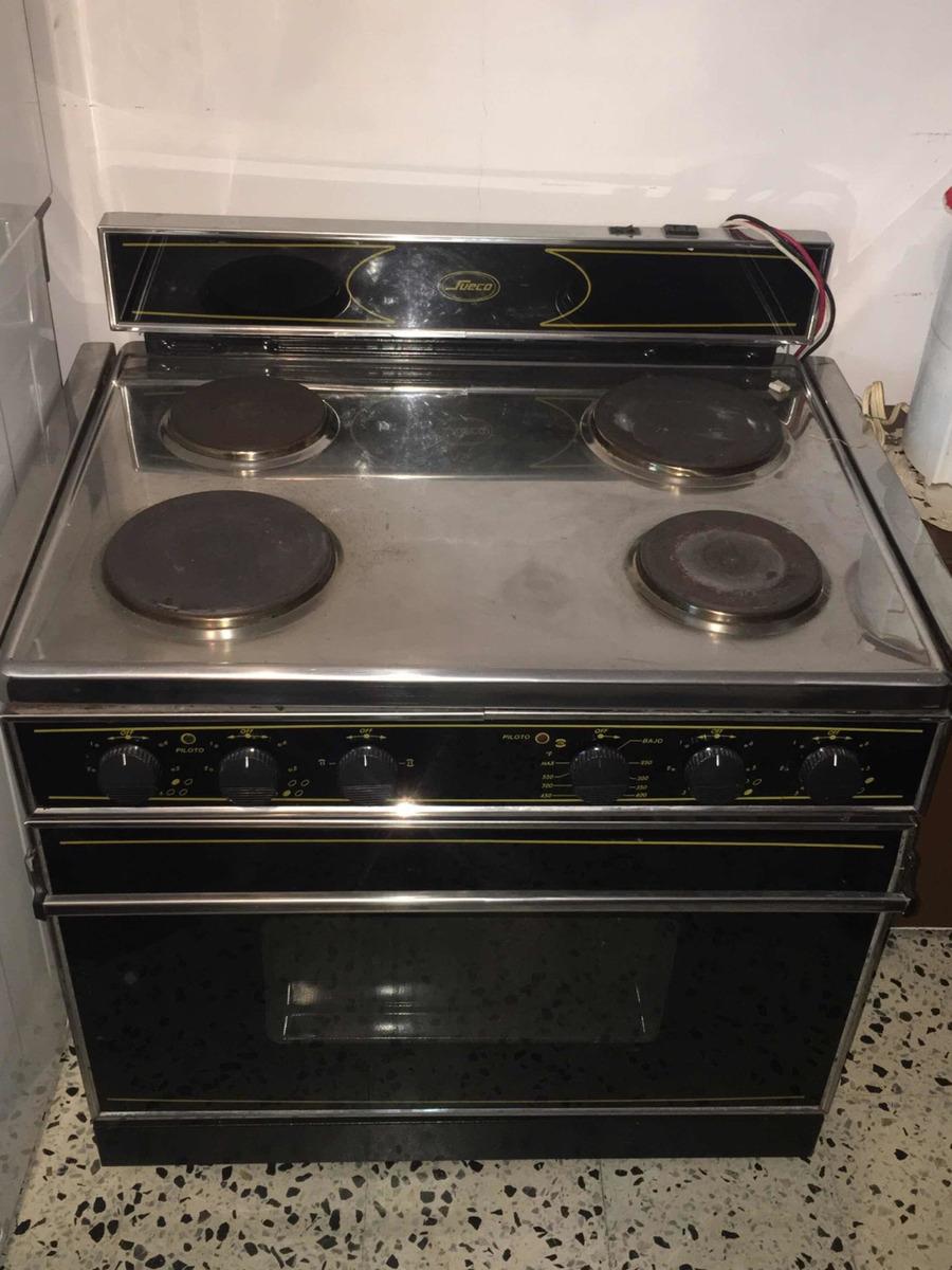 Cocina Electrica 4 Hornillas Horno Marca Sueco Bs 500 000