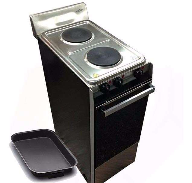 Cocina Electrica Brogas 2 Hornallas Horno Electrico Angosta