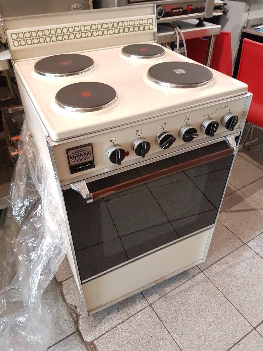 Cocina electrica con horno inresa s en for Cocinas electricas con horno