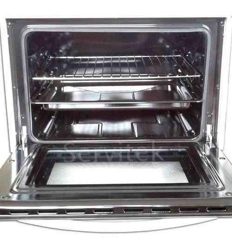 cocina electrica cromwell fsc50e-s acero inoxidable horno 50