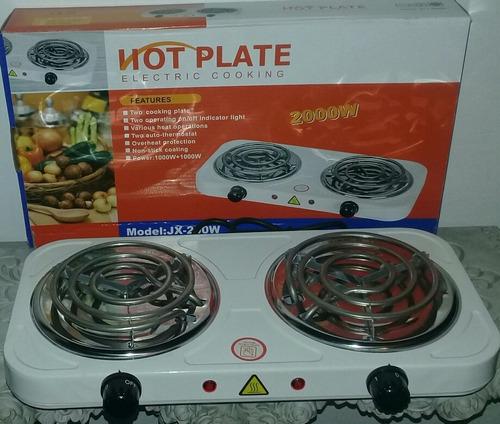 cocina eléctrica de 2 (dos) hornillas nuevas