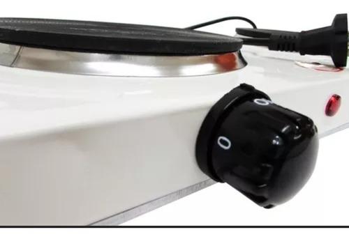 cocina eléctrica de 2 platos encimera 2000 watts