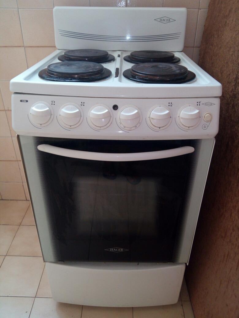 Cocina Electrica De 4 Hornillas Con Horno Marca Haceb Bs 0 19