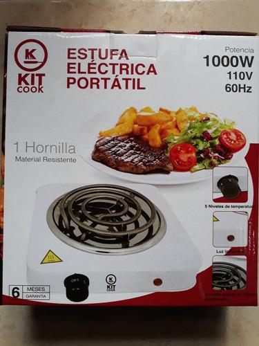 cocina eléctrica de una hornilla de 1000w original