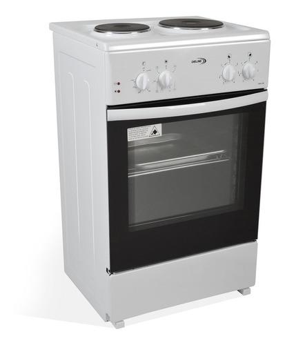 cocina electrica delne 2 hornallas y termostato horno pcm