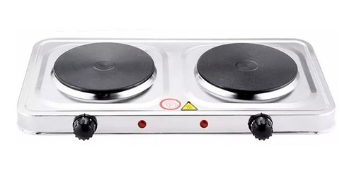 cocina electrica doble plato cocinilla portatil  ml03245
