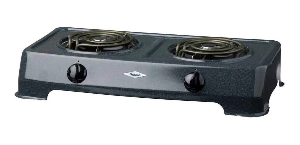 Cocina Electrica Dos Hornillas Haceb 2200w Profesional Bs 3 733