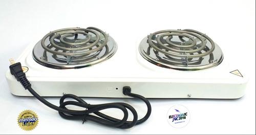cocina electrica dos hornillas nuevas-tienda fisica