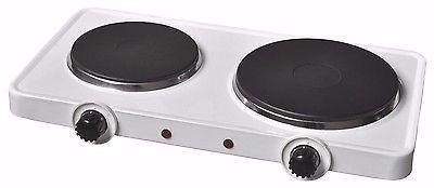 Cocina el ctrica encimera doble plato 2500 watts 16 for Cocina encimera electrica