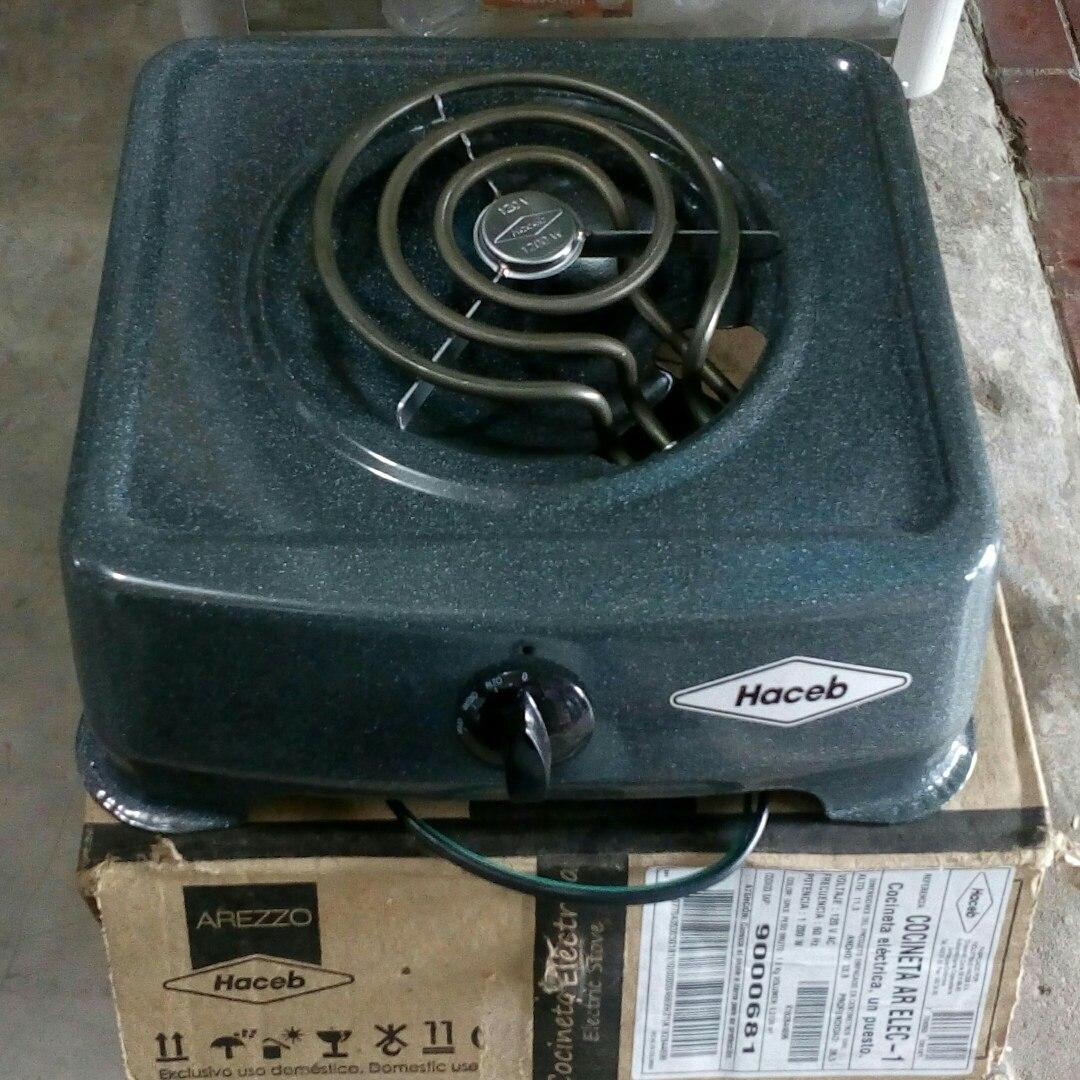 Cocina Electrica Haceb 1 Hornilla Bs 4 000 00 En Mercado Libre