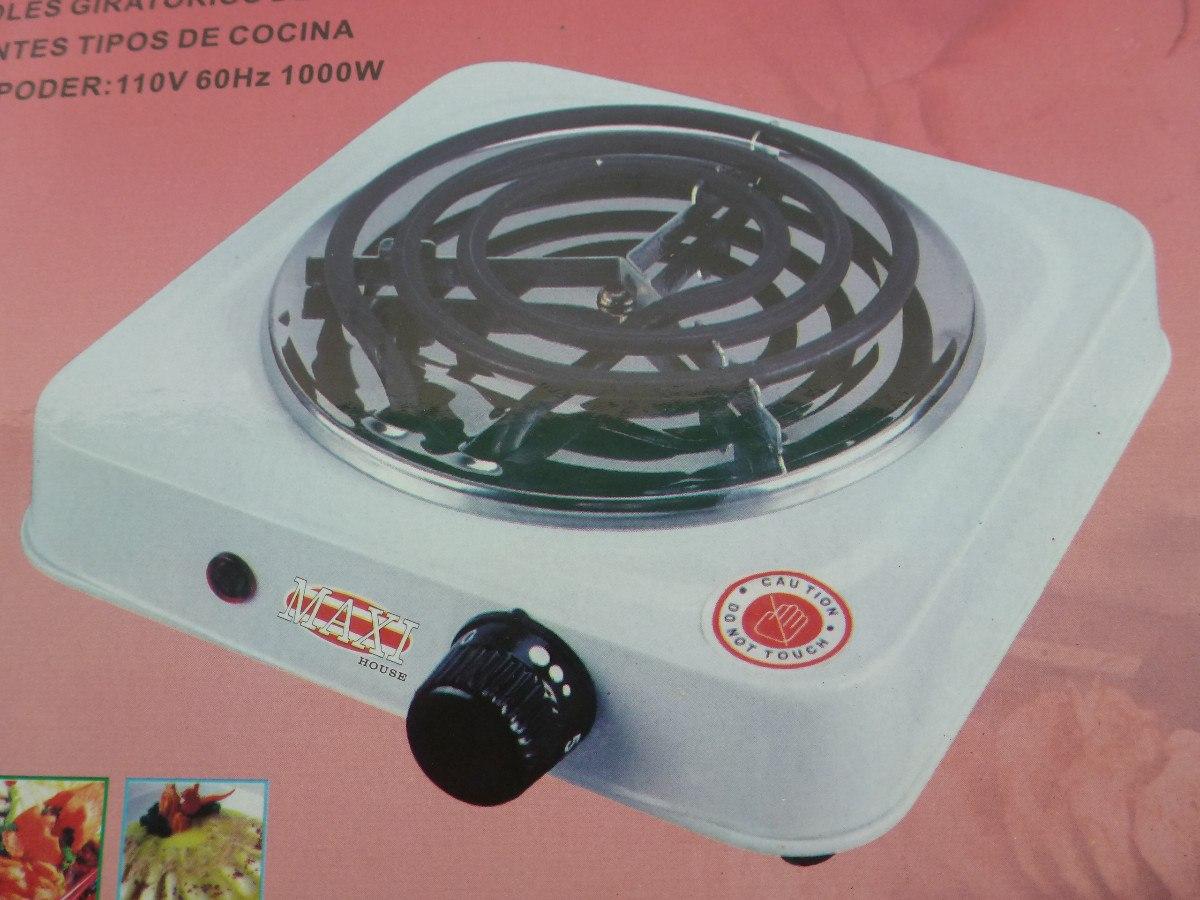 Cocina el ctrica port til 1 hornilla marca maxi house 1000 w bs 0 30 en mercado libre - Cocina electrica portatil ...