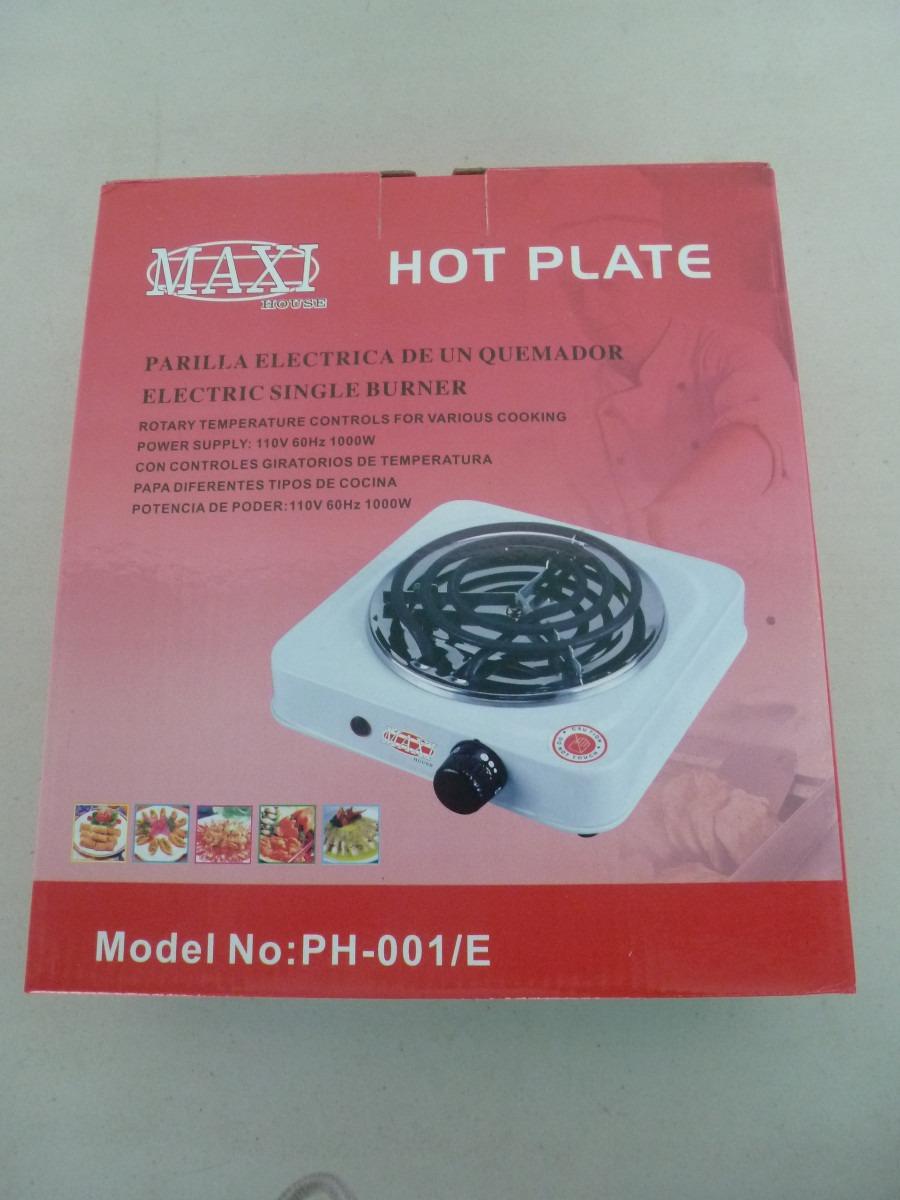 Cocina el ctrica port til 1 hornilla marca maxi house 1000 w bs en mercado libre - Cocina electrica portatil ...