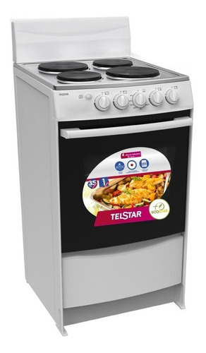 cocina electrica telstar® (tce020410md) nuevo en caja