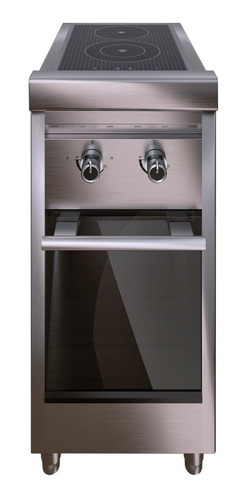 cocina electrica vitroceramica morelli nano 2 hornallas 40cm