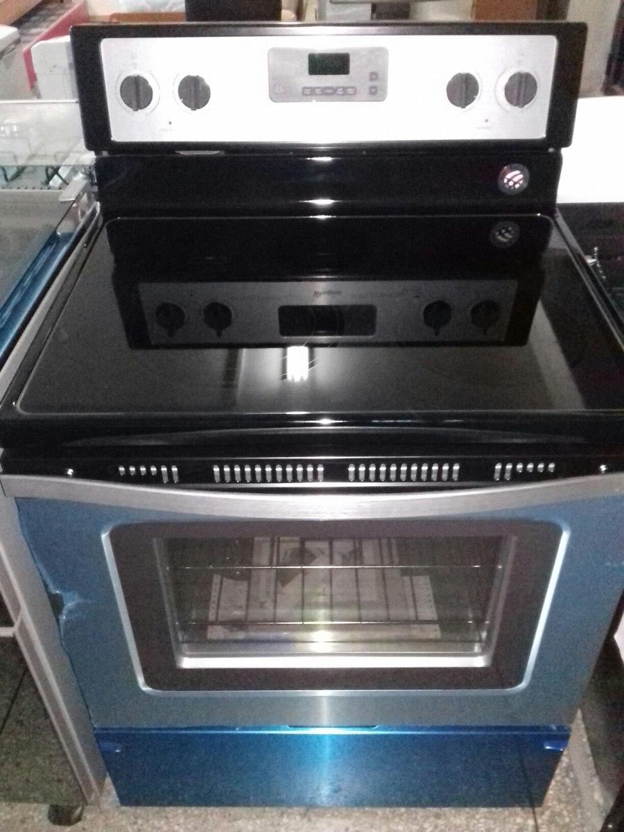 Cocina el ctrica whirlpool en vitrocer mica 5h nueva somos for Cocinas whirlpool modelos