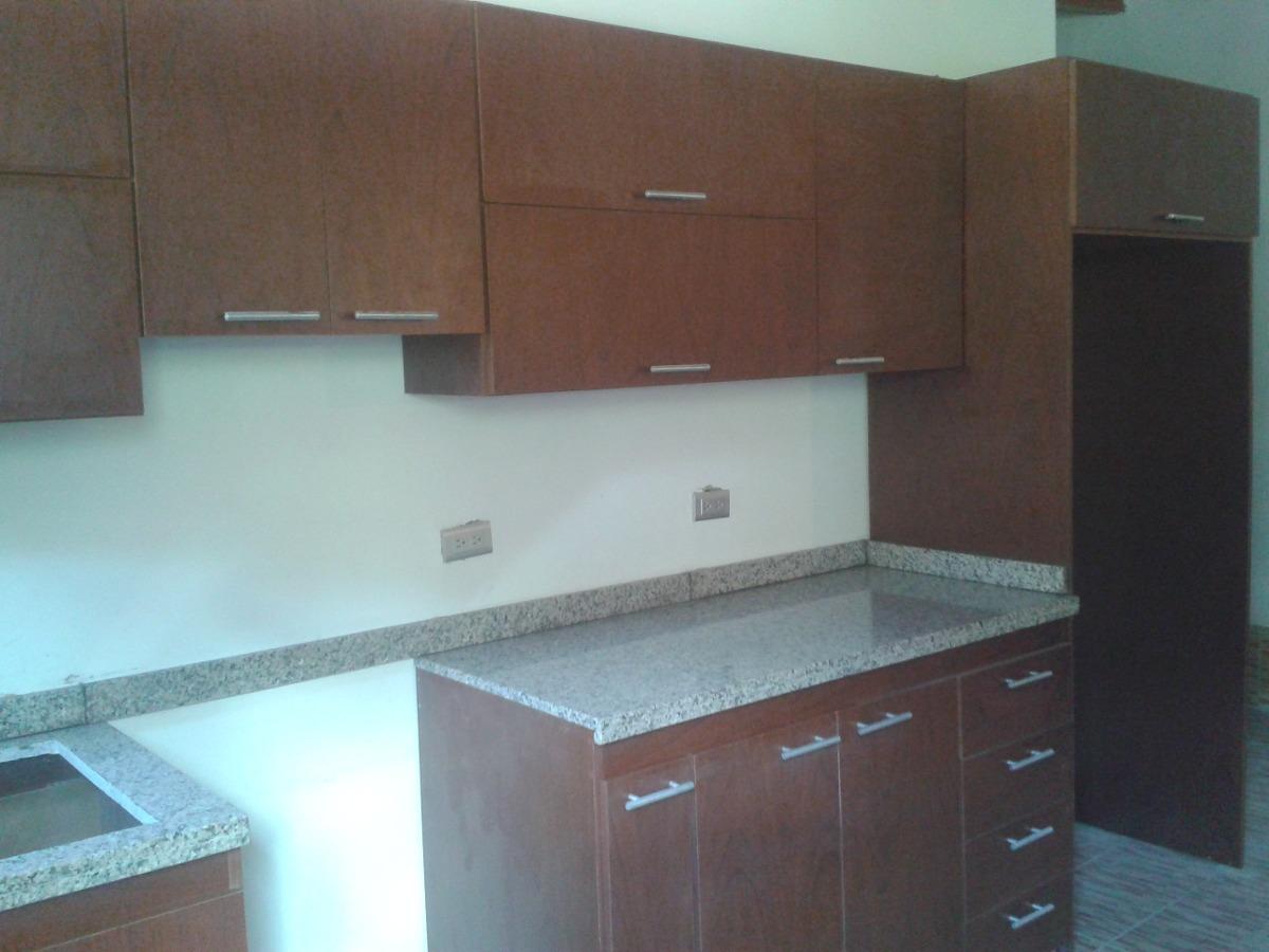 Cocina empotrada 3 5 metros x 6125 con tope de granito for Muebles de cocina 2 metros