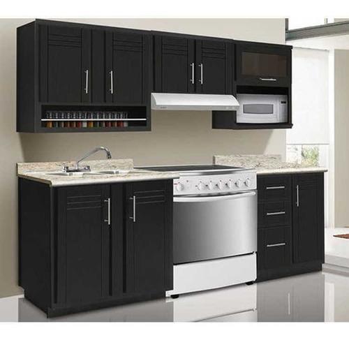 cocina empotrada closet carpinteria