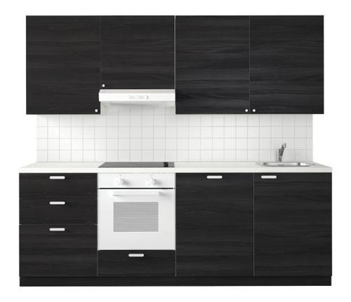 cocina empotrada en 2 5 o trmp metro módulos  aéreo + base