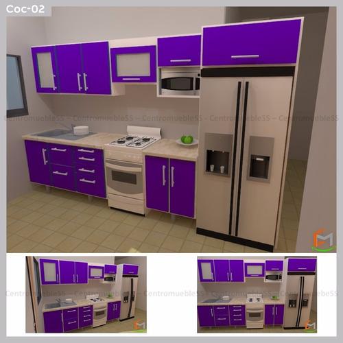 cocina empotrada modular moderna fachada gabinete fabricamos