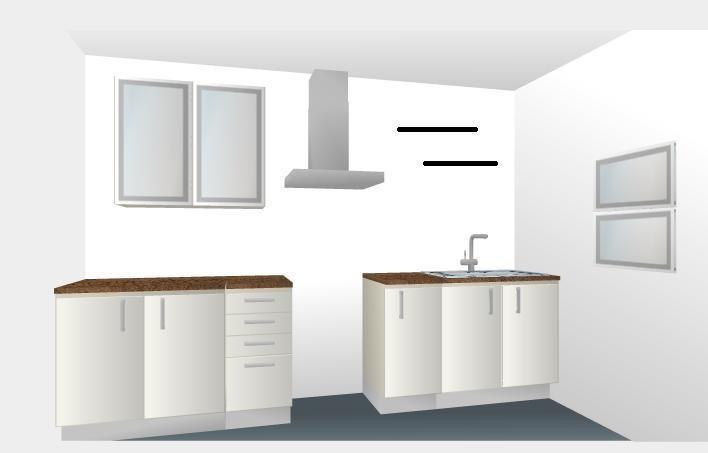 Cocina empotrada modular para 3 metros lineales oferta Cocina 3 metros lineales