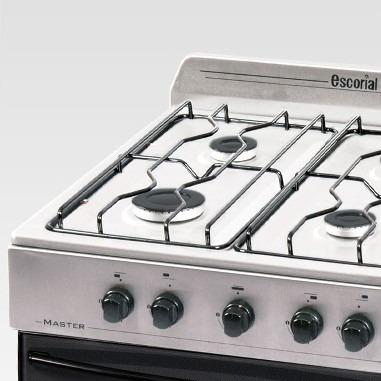 cocina escorial master inox c/valvula facil limpieza