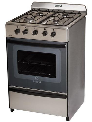 cocina escorial modelo master acero inoxidable -cuotas -