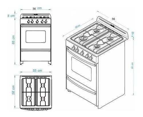 cocina escorial modelo master acero inoxidable - cuotas