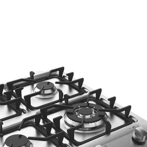 cocina fensa 4 platos 56dax doble horno 1 gas y 1 eléctrico