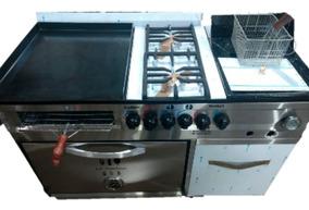 Equipos De Cocina Plancha Freidora Refrigeradora Campana Etc En