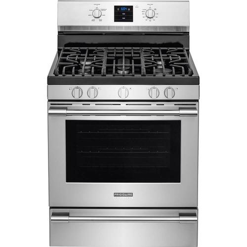 cocina frigidaire profecional gas (fpgf3077qf) nueva en caja