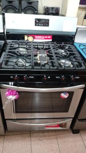cocina gas frigidaire® 30  modelo (ffgf3052ts) nueva en caja