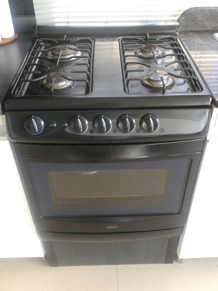 Cocina a gas 4 hornillas con horno marca mabe 24 pulgadas for Cocina y horno de gas