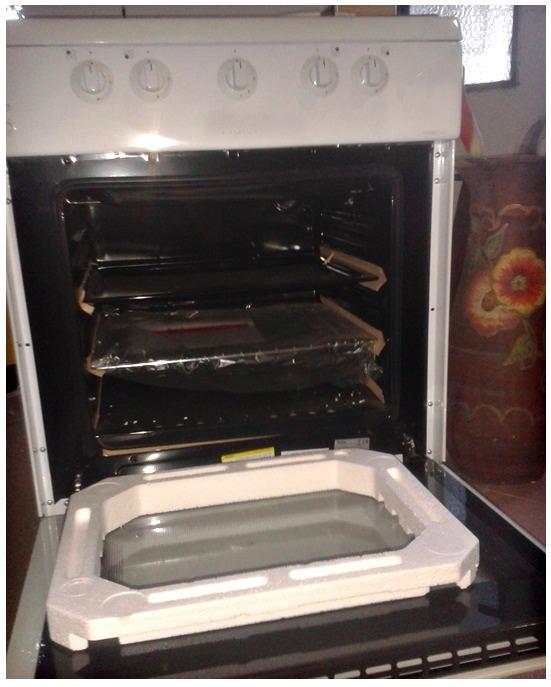 Cocina A Gas Con Horno 4 Hornillas Color Blanco Nueva Bs 130