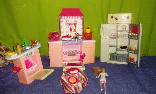 cocina gloria barbie juguete
