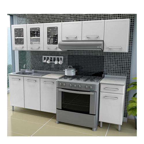 cocina gourmet 2.40 mt armable *e
