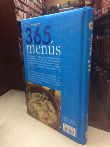 cocina - gran libro de los 365 menús