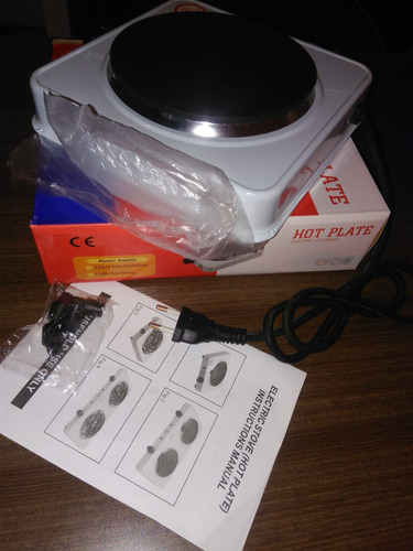 cocina hornilla eléctrica portátil nuevas en caja