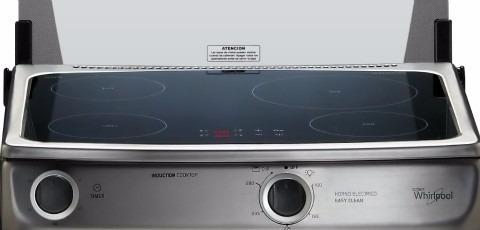 cocina inducción whirlpool 4 zonas wen24val silver