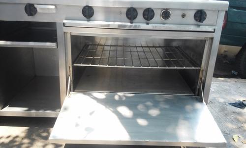 cocina industral acero inoxidable