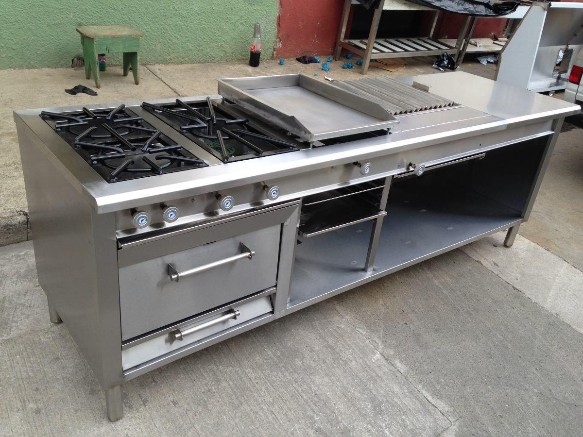 Cocina industrial 3 que plancha grill horno gratinador - Plancha de cocina industrial ...