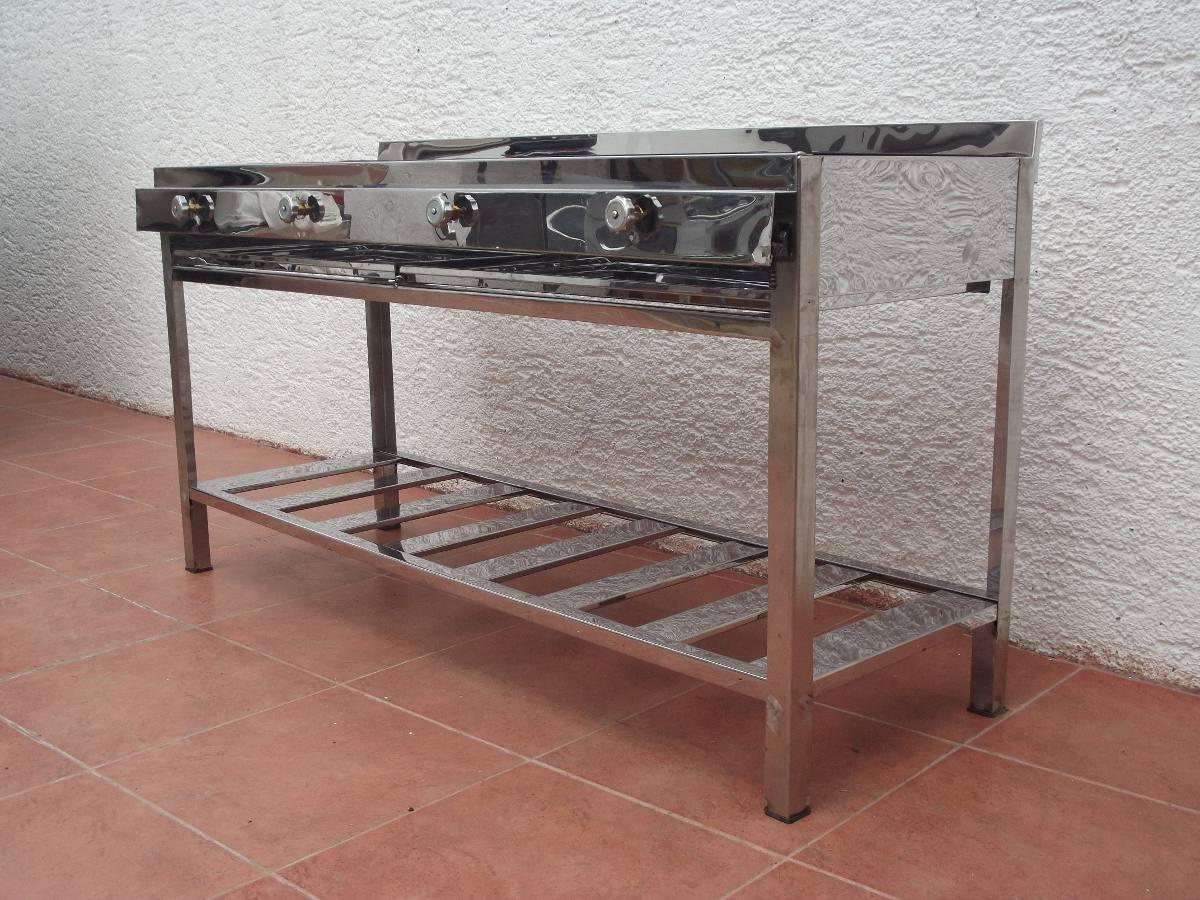 Cocina Industrial 4 Quemadores U S 280 00 En Mercado Libre