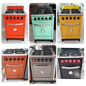 Cocina Industrial 57 Cm 4 H Colores - La Plata - Cuotas
