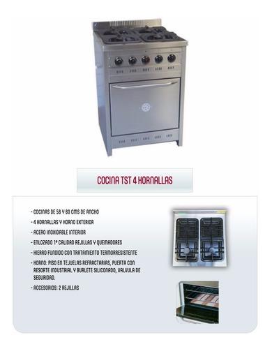 cocina industrial corbelli o tst fundicion y total acero !!!