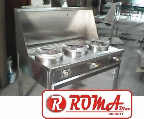 Cocina industrial de 1 hornilla roma diaz s 400 00 en - Cocina industrial precio ...