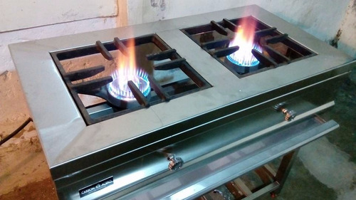 cocina industrial de acero inoxidable
