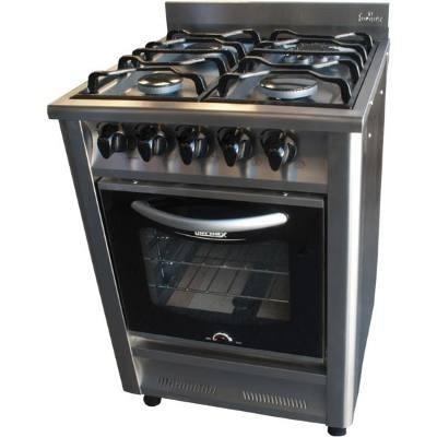 cocina industrial fornax 60cm- linea taverna - puerta visor