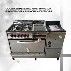 Cocina Mas Plancha Mas Freidora Maquinas En Mercado Libre Argentina